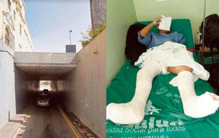 Accidente Alameda Chabuca Granda