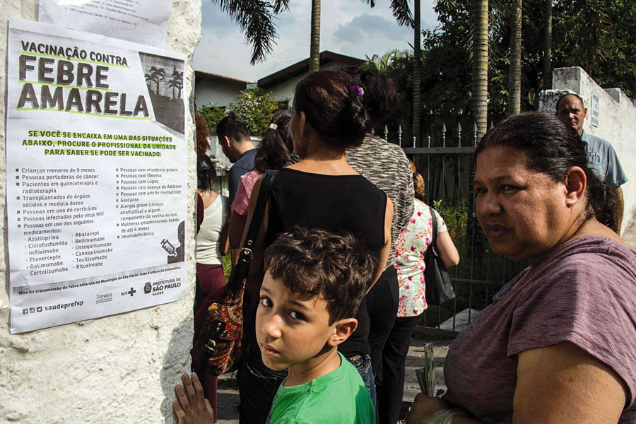 Chilenos mueren por fiebre amarilla en Brasil