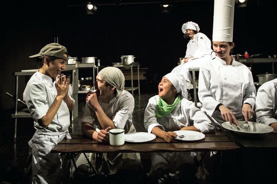"""Obra """"La cocina"""""""