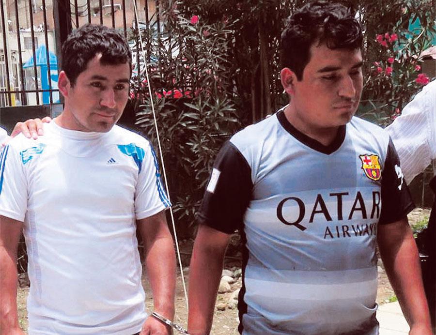 Ronald y Vidal Ambrosio Espinoza