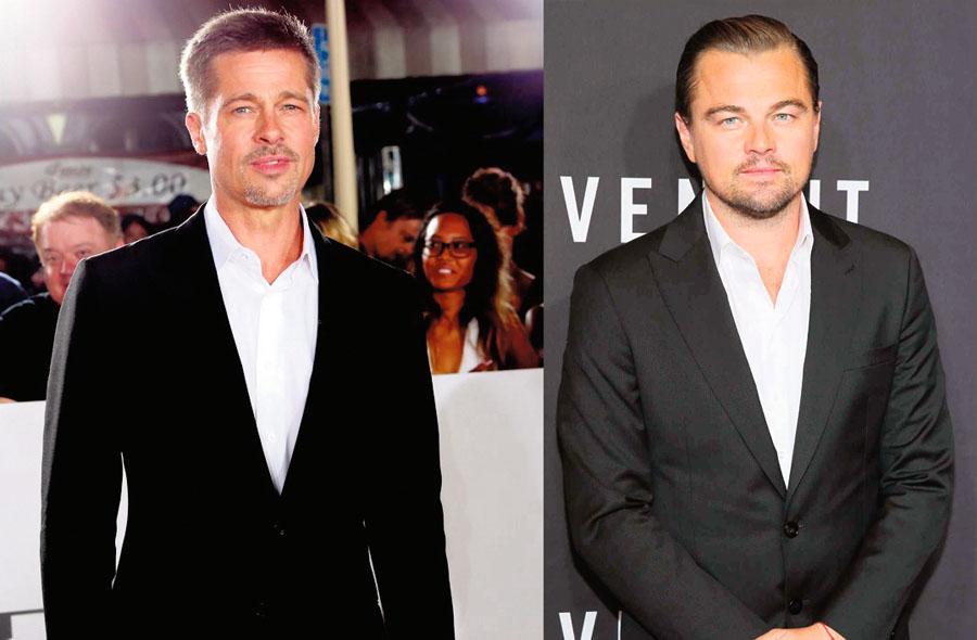 Brad Pitt y Leonardo DiCaprio