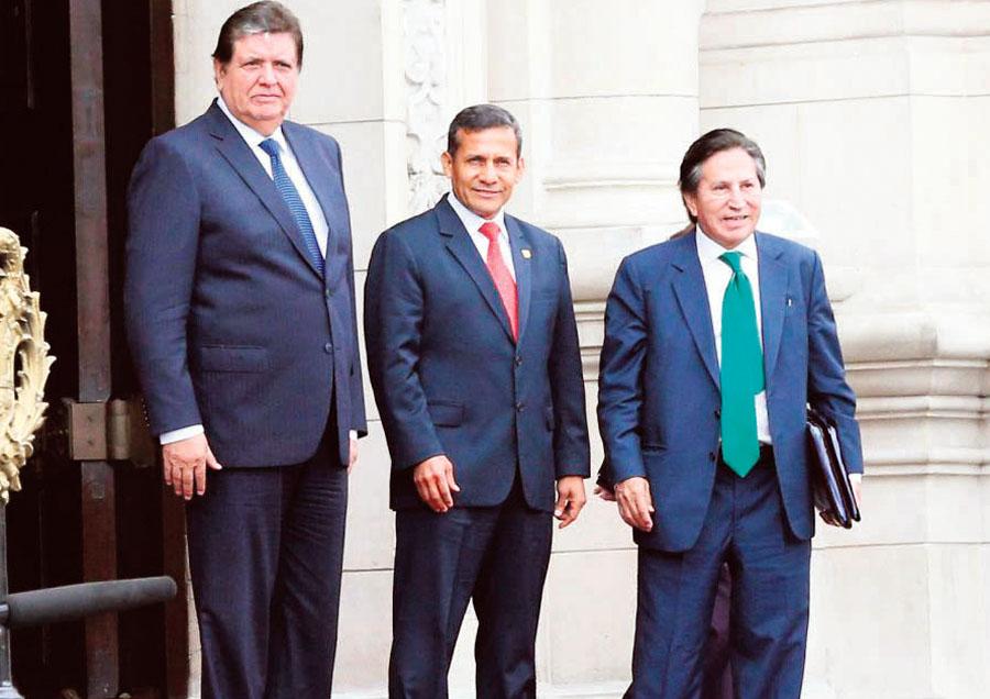 Ex presientes del Peru