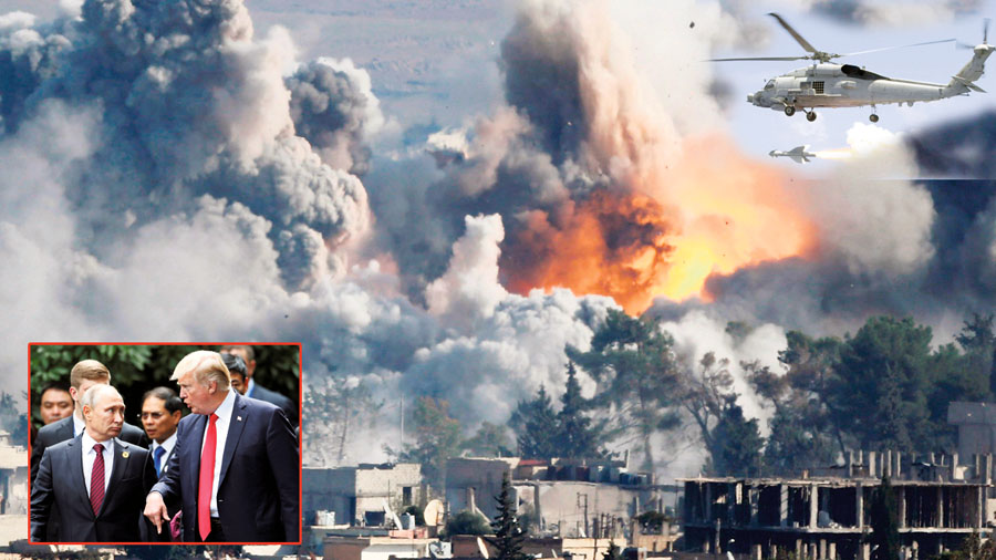 EE.UU. lanzará 'misiles bonitos e inteligentes' sobre Siria