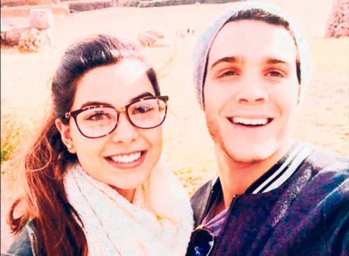 Ivana Yturbe y Mario Irivarren