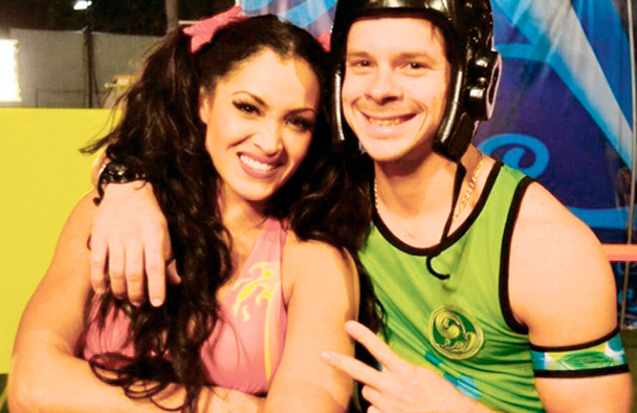 Micheille Soifer y Mario Hart