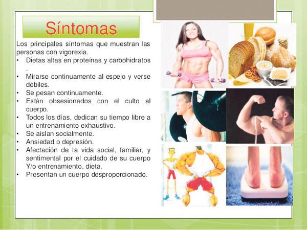 Sintomas Vigorexia