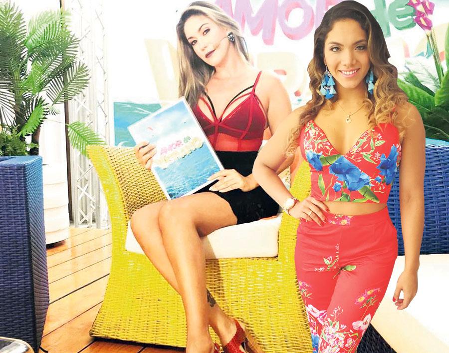 Tilsa Lozano y Isabel Acevedo