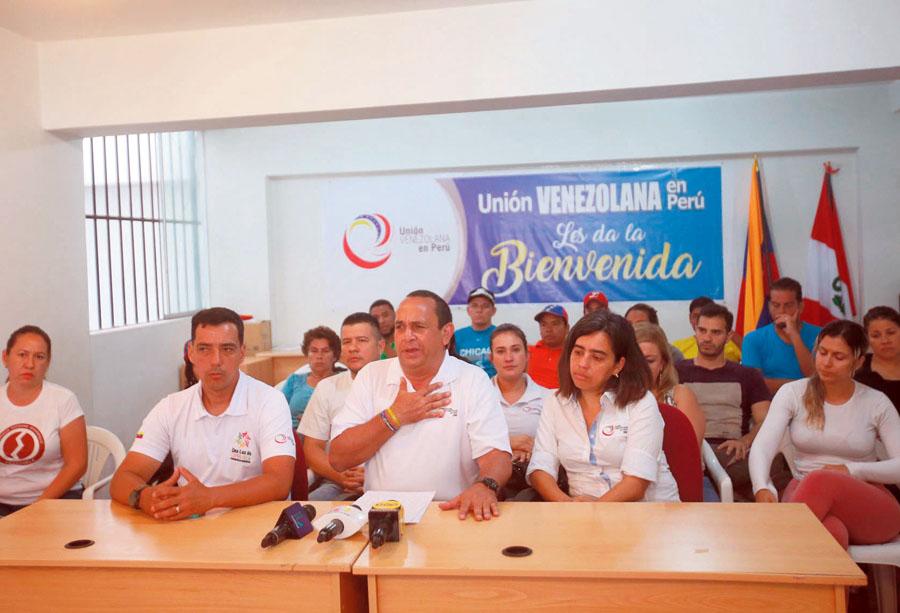 Union venezolana del Peru