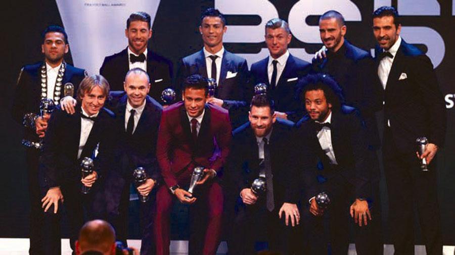 Futbolistas del mundo