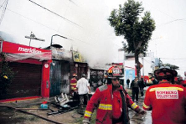 Incendio en Magdalena