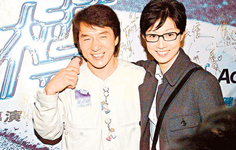 Jackie Chan y su hija Etta NG
