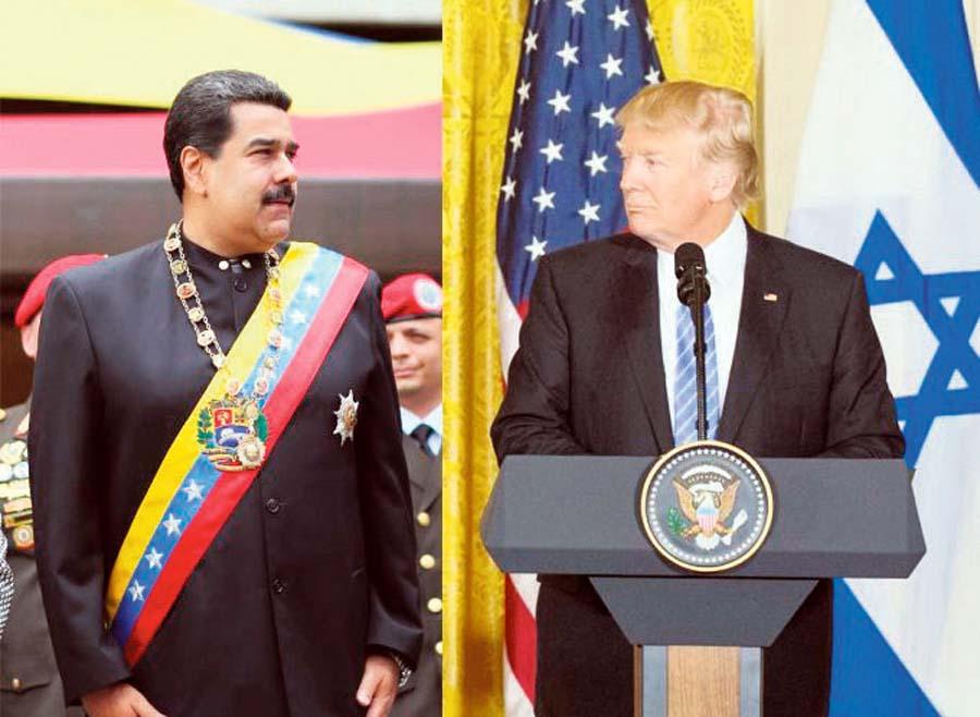 """Maduro y Trump se """"declaran la guerra"""""""