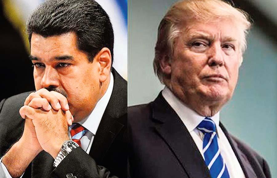 Trump ordena a Maduro nuevas elecciones en Venezuela