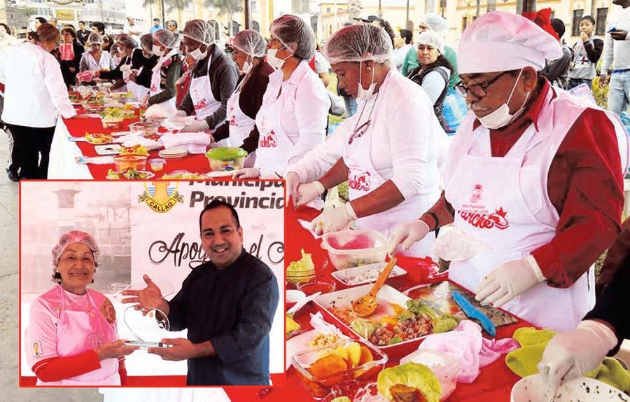 Adultos mayores celebraron el 'Día del Ceviche'