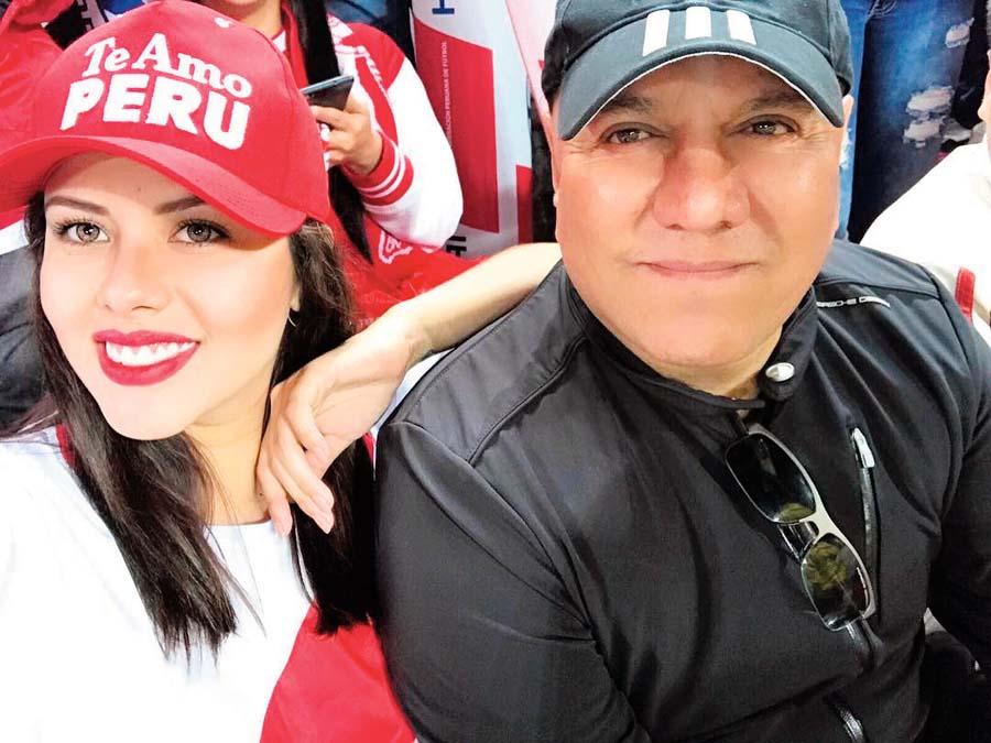 Antonella De Groot y Mauricio Diez Canseco