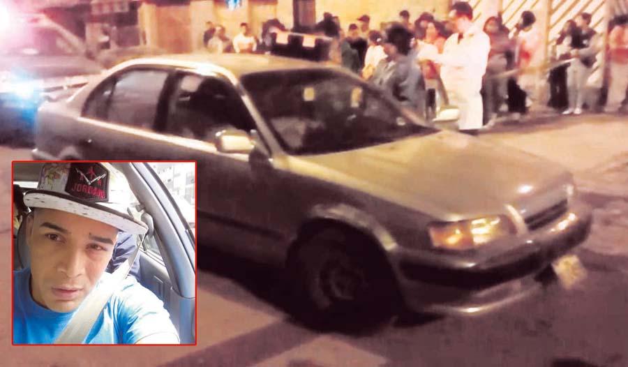 Asaltantes asesinan a taxista en el Callao