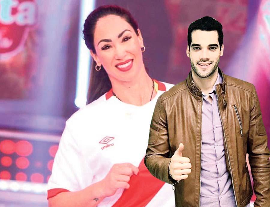 Guty Carrera y Melissa Loza