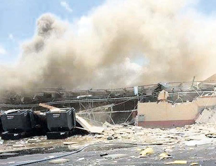 Hospital explota en Texas