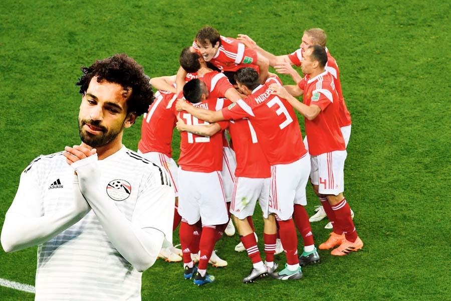 Rusos dejan a Salah sin Mundial