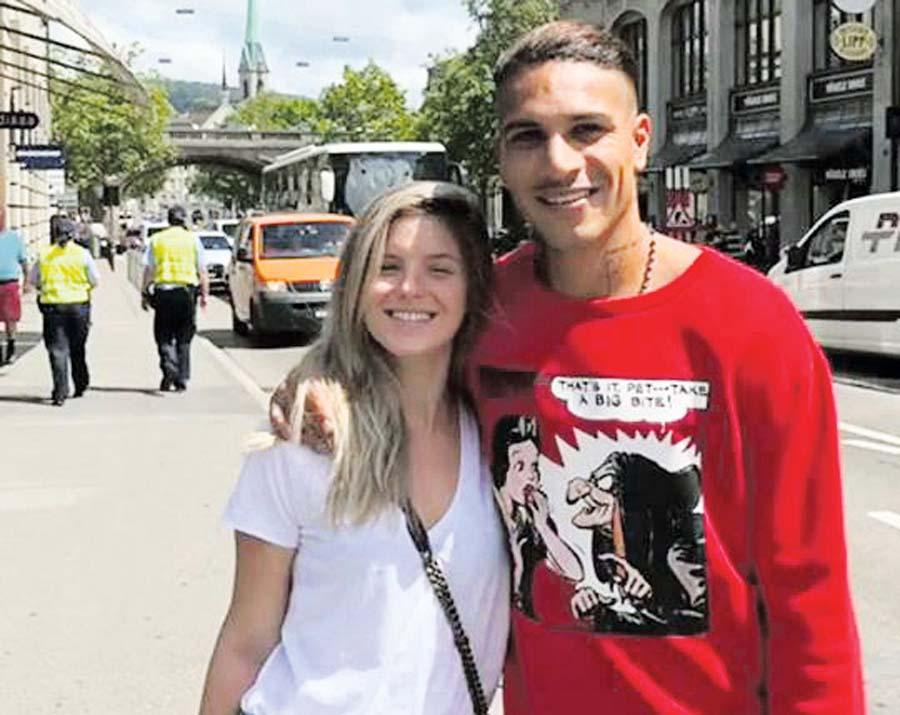Thaisa Leal y Paolo Guerrero