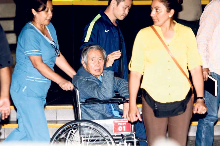 expresidente Alberto Fujimori