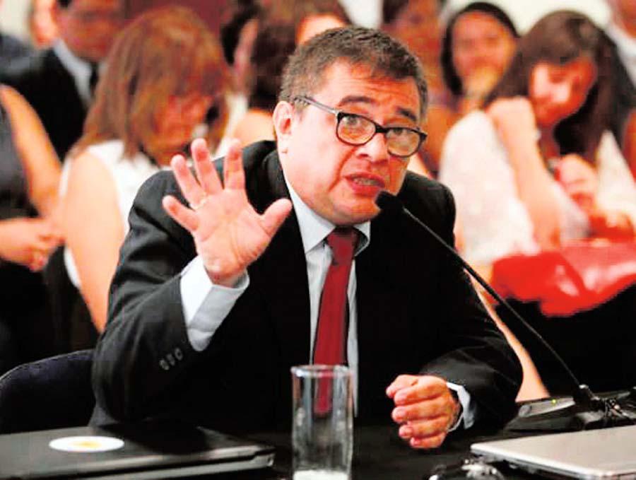 Adolfo Castillo Meza, jefe de laONPE