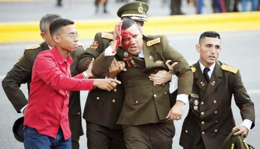 Atentado a Nicolas Maduro