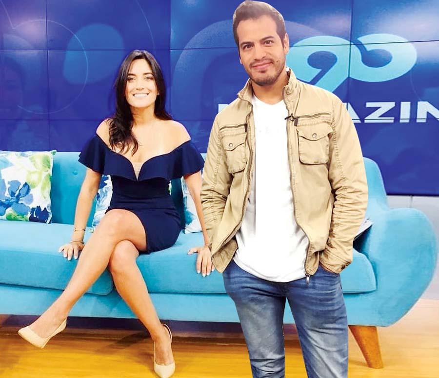 Ernesto Jiménez estrenará con Mari Calixtro programa, 'En casa'