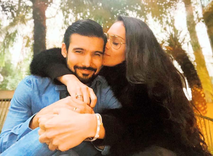 Ezio Oliva y Karen Schwarz