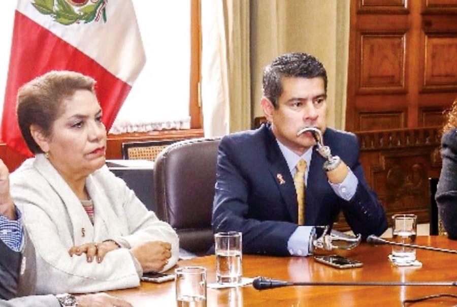 Luz Salgado y Luis Galarreta