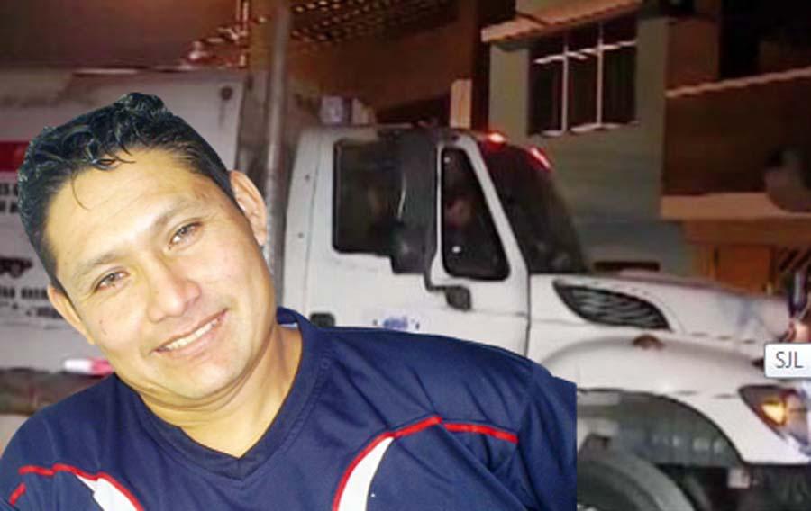 Conductor mata a balazos a recolector de basura
