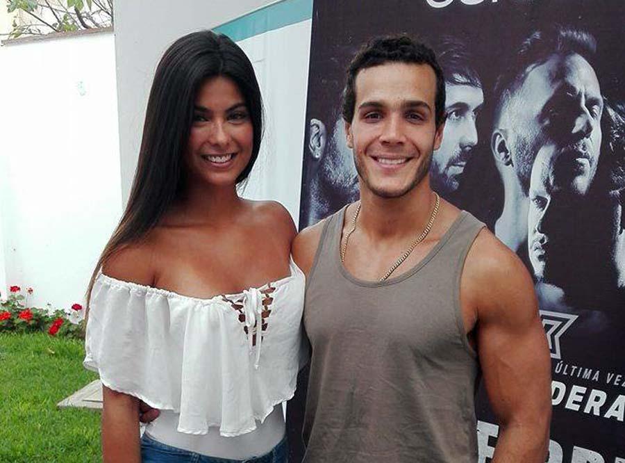 Mario Irivarren e Ivana Yturbe