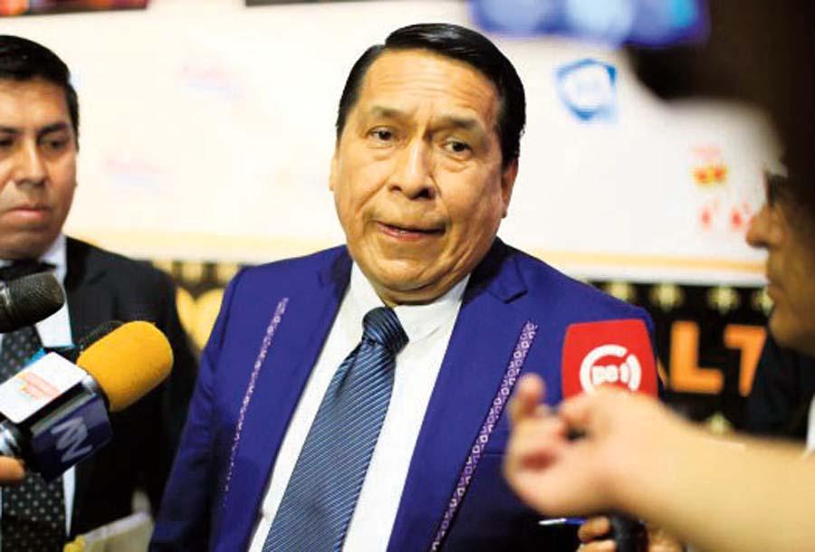 Pastor evangélico y líder de la Iglesia 'Aposento Alto', Alberto Santana