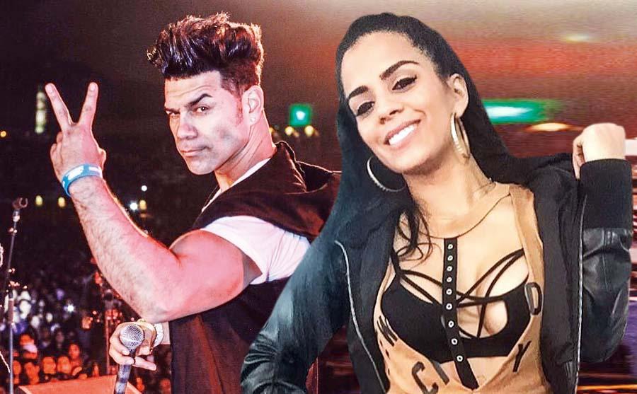 Vanessa López y su exesposo Carlos 'Tomate' Barraza