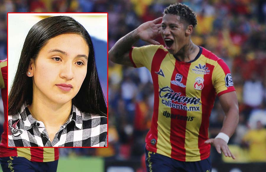 Voleibolista Karla Moreno denuncia a Ray Sandoval por no reconocer hijo