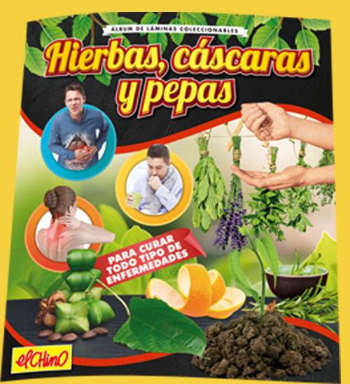 Album 'Hierbas, cascaras y pepas'