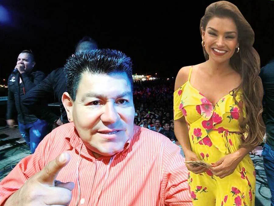 Dilbert Aguilar y Claudia Portocarrero