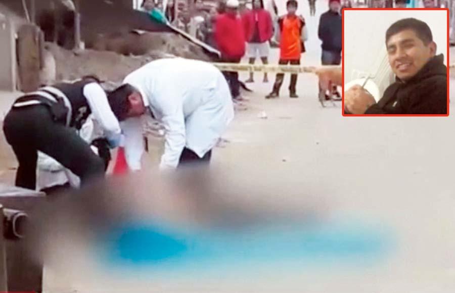 Ladrones a asesinan a joven por un celular
