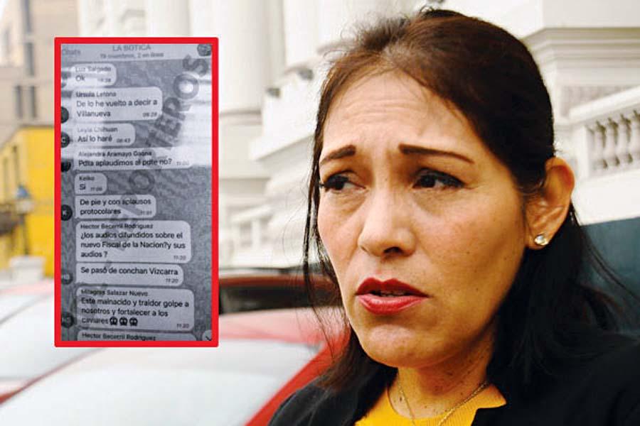 Los chats del famoso grupo 'La Botica' donde participan congresistas de Fuerza Popular, sigue causando efectos