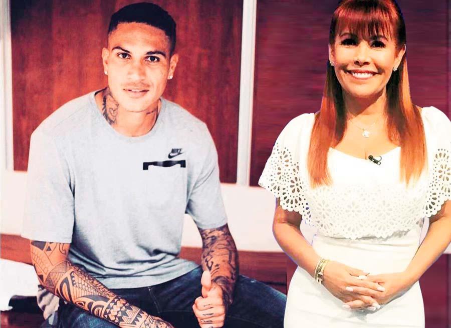 Magaly Medina y Paolo Guerrero