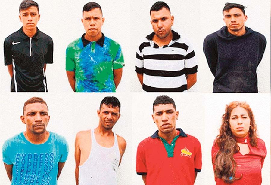 8 venezolanos caen robando casa en El Golf