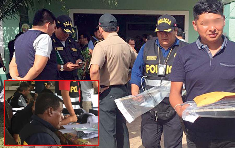 Agentes PNP alquilaban sus armas a delincuentes