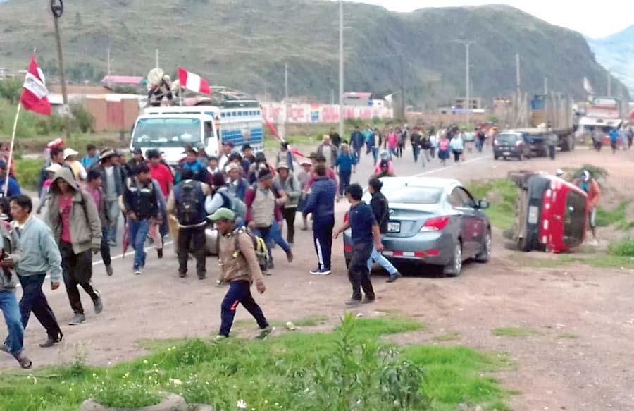Paro agrario Cusco