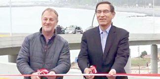 Inauguran viaducto de Armendáriz