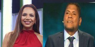 Mónica Cabrejos y Juan Flores