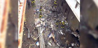 Piloto muere tras chocar helicóptero contra rascacielos