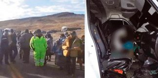 Sicarios acribillan a chofer frente a pasajeros
