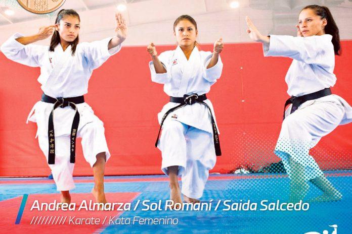 Andrea Almarza, Sol Romaní y Saida Salcedo