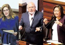 Mercedes Aráoz, Carlos BruceyAna María Choquehuanca
