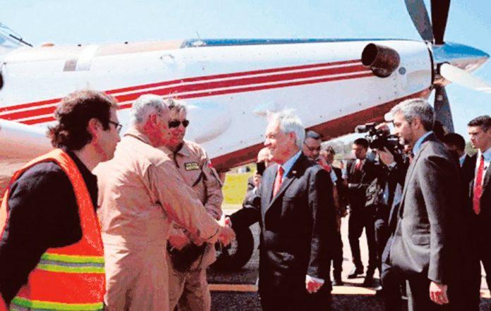 Piñera envía ayuda a Paraguay